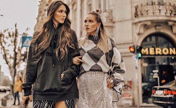 VIDEO Diana Enciu și Alina Tănasă, ținute fabuloase de iarnă