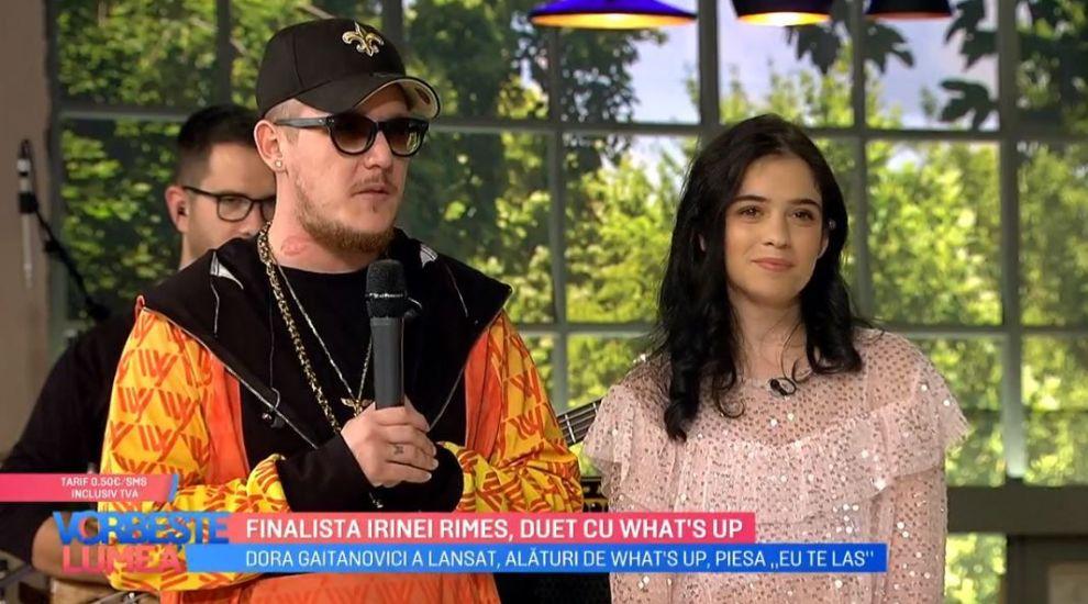 "VIDEO Finalista Irinei Rimes și What's Up au lansat un nou single, ""Eu te las"""