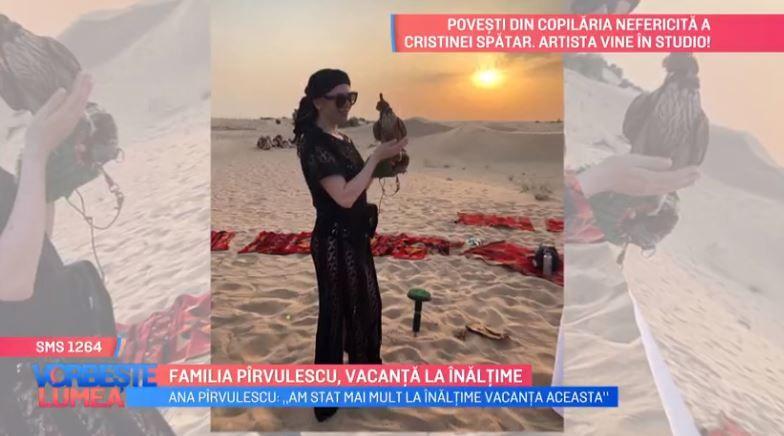 VIDEO Familia Pîrvulescu, vacanță la înălțime