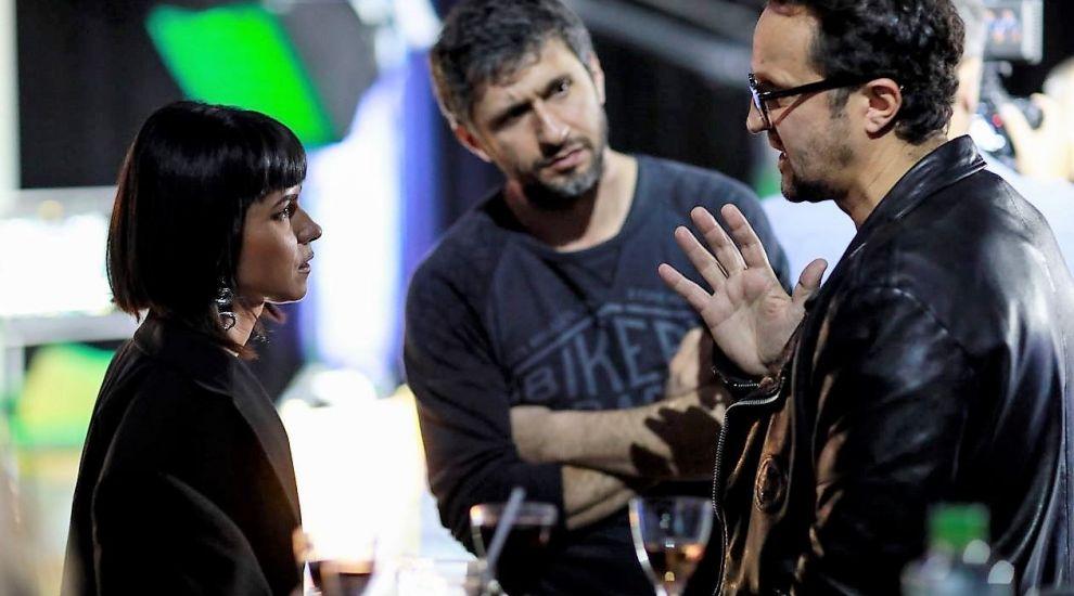 """Dragoș Bucur și Dorian Boguță și-au deschis platou de filmare în București. """"Am muncit 7 luni la acest loc"""""""