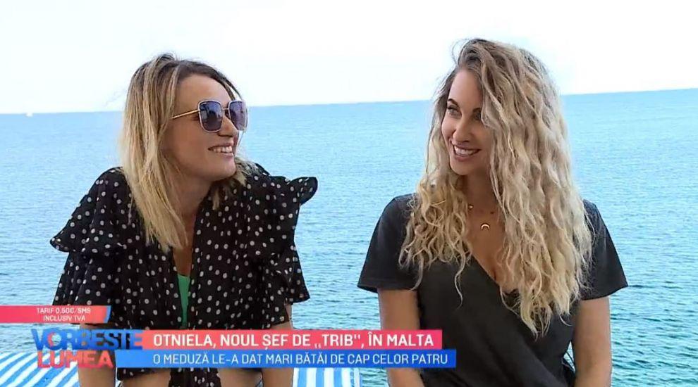 "VIDEO Otniela, noul șef de ""Trib"", în Malta"