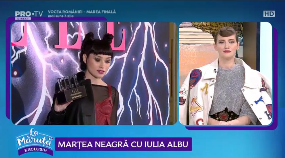 VIDEO Marțea neagră cu Iulia Albu