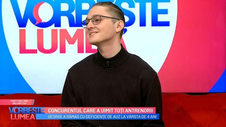 """VIDEO George Aghinea, concurentul care a uimit toți antrenorii, va cânta în finala """"Vocea Romaniei"""""""
