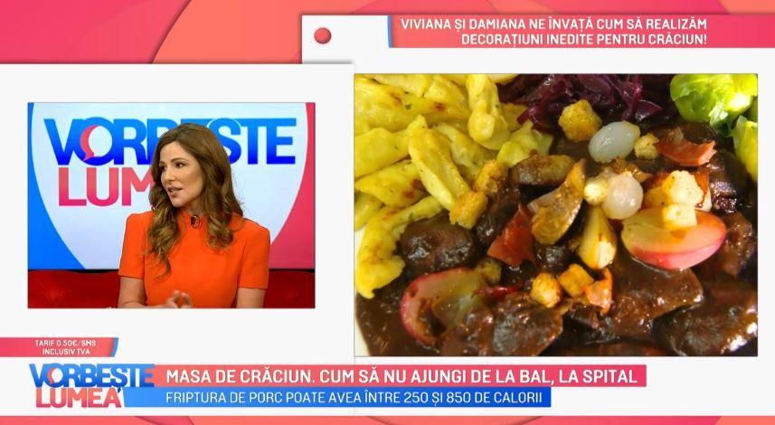 Masa de Crăciun. Oana Cuzino oferă sfaturi legate de excesele alimentare din perioada sărbătorilor
