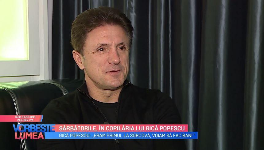 Interviu cu Gică Popescu. Cum petrecea fostul fotbalist sărbătorile de iarnă