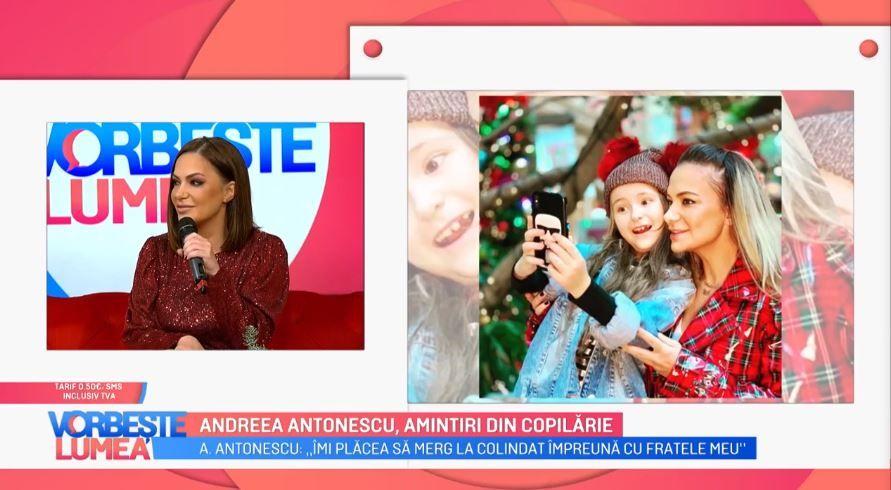 Andreea Antonescu, primul Crăciun departe de fiica ei. Cântăreața va petrece sărbătorile alături de noul iubit