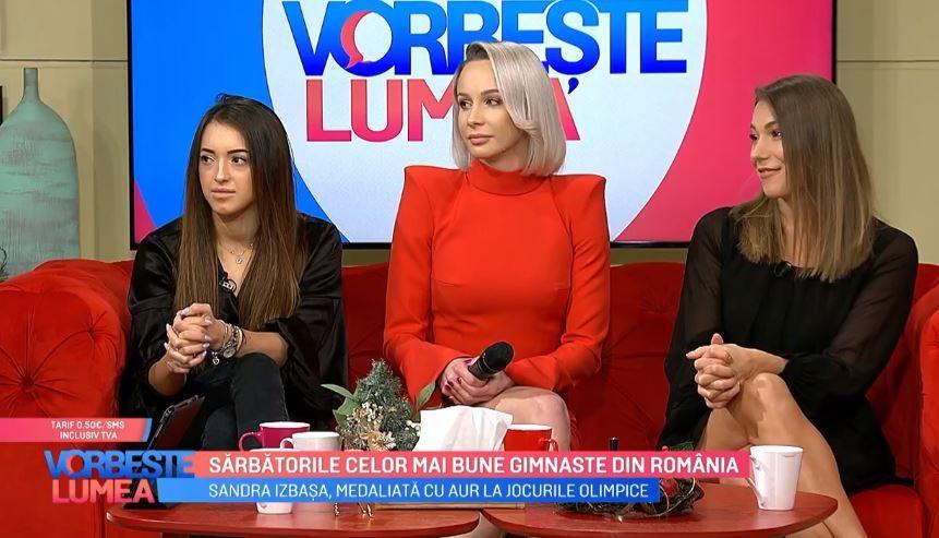 Sandra Izbașa, Monica Roșu și Larisa Iordache, despre sărbătorile de iarnă