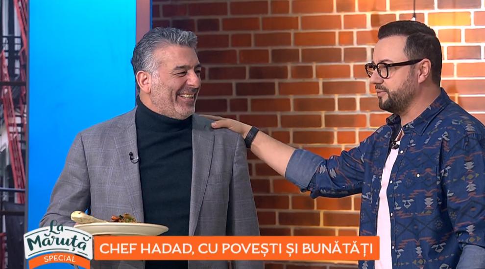 VIDEO Chef Hadad, cu povești și bunătăți