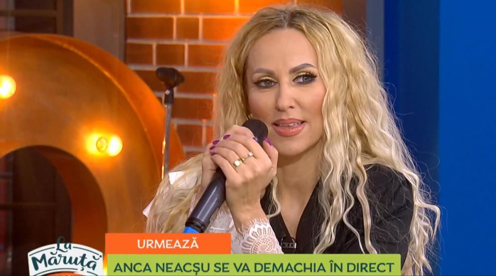 VIDEO Anca Neacșu s-a demachiat în direct