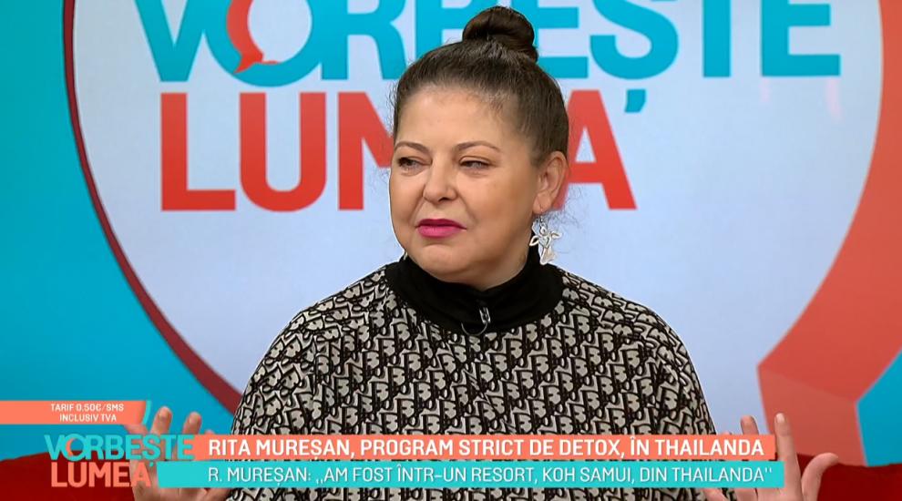 VIDEO Rita Mureșan, program strict de detox, în Thailanda