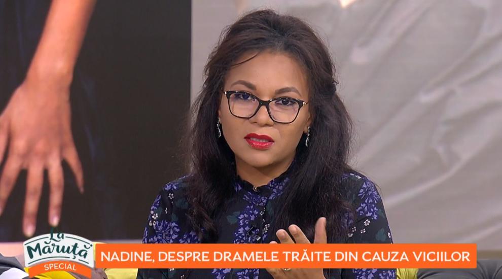 VIDEO Nadine, despre dramele trăite din cauza viciilor