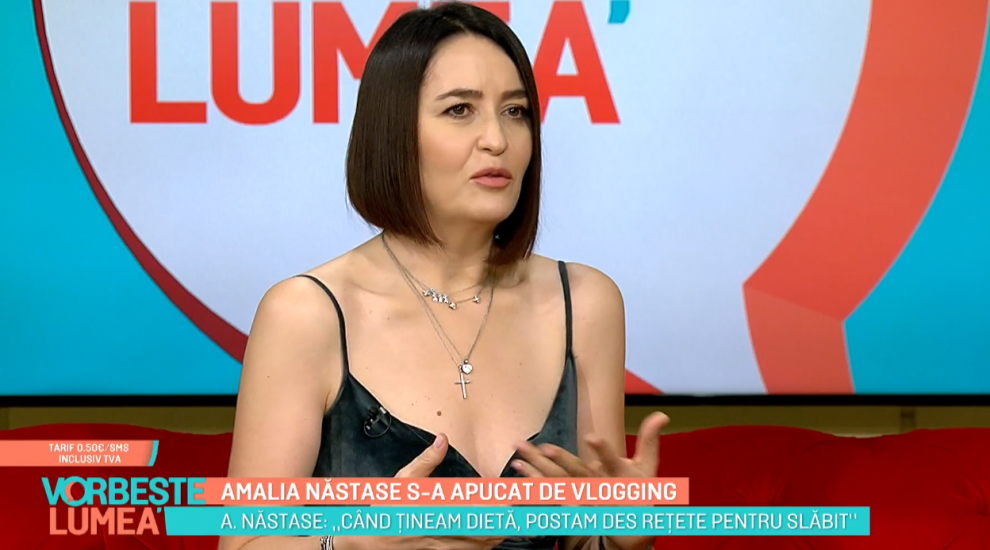 VIDEO Amalia Năstase s-a apucat de vlogging