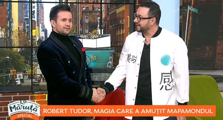 VIDEO Robert Tudor, magia care a amuțit mapamondul