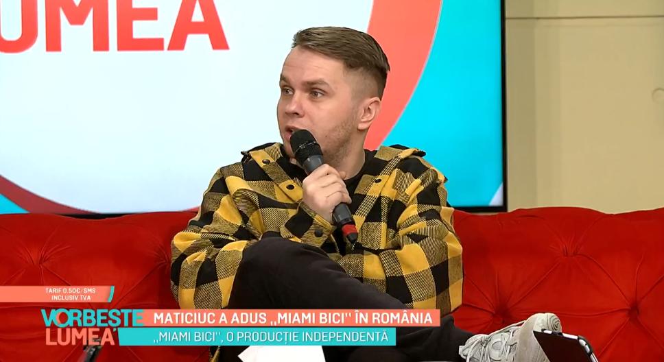 """VIDEO Codin Maticiuc a adus """"Miami Bici"""" în România"""