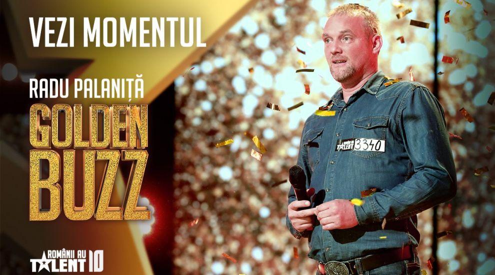 Al patrulea GOLDEN BUZZ: Florin Călinescu, impresionat de mecanicul auto Radu Pălăniță
