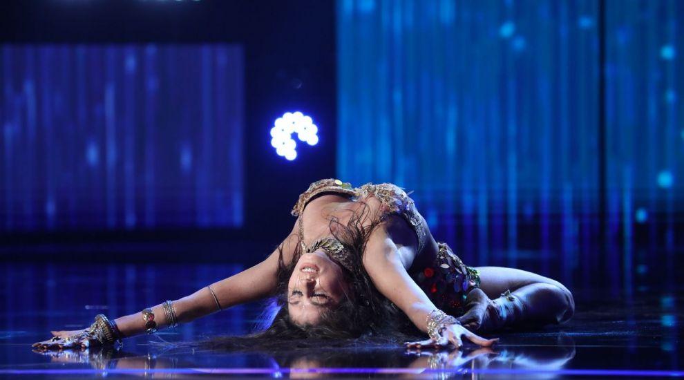 Românii au talent 2020 - Natasha Korotkina, moment amețitor de bellydance