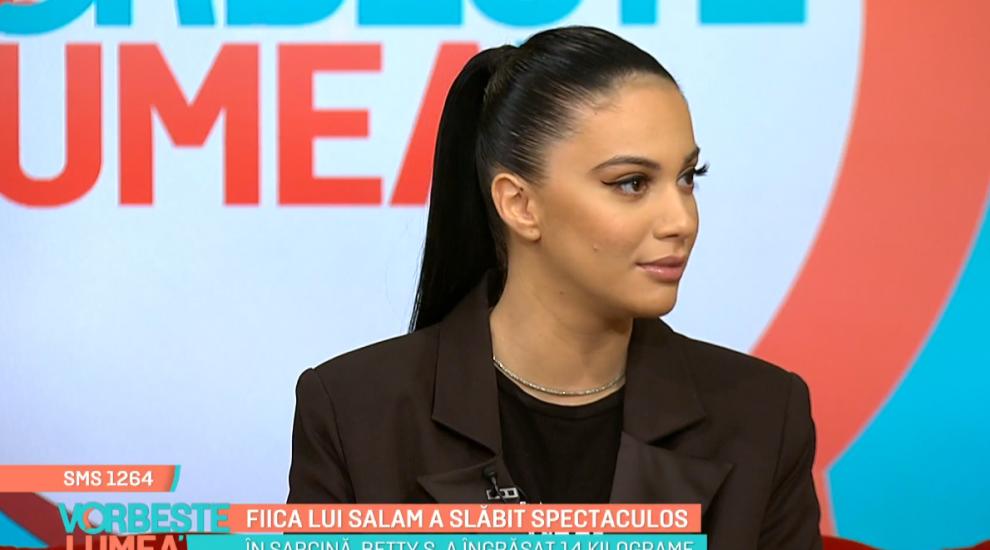 VIDEO Betty, fiica lui Florin Salam, a slăbit spectaculos