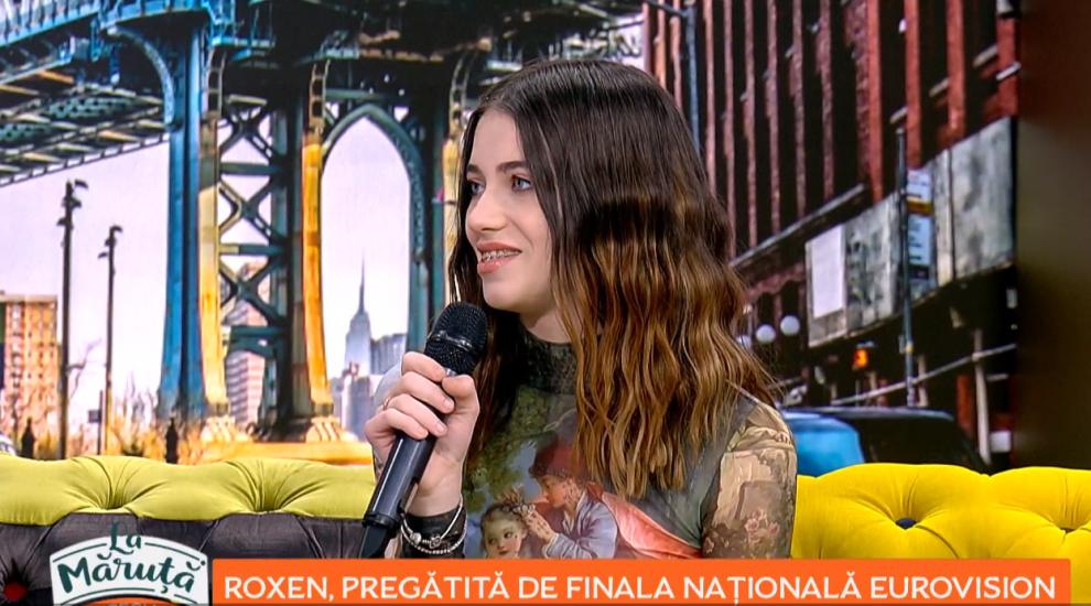 VIDEO Roxen, pregătită pentru finala națională Eurovision