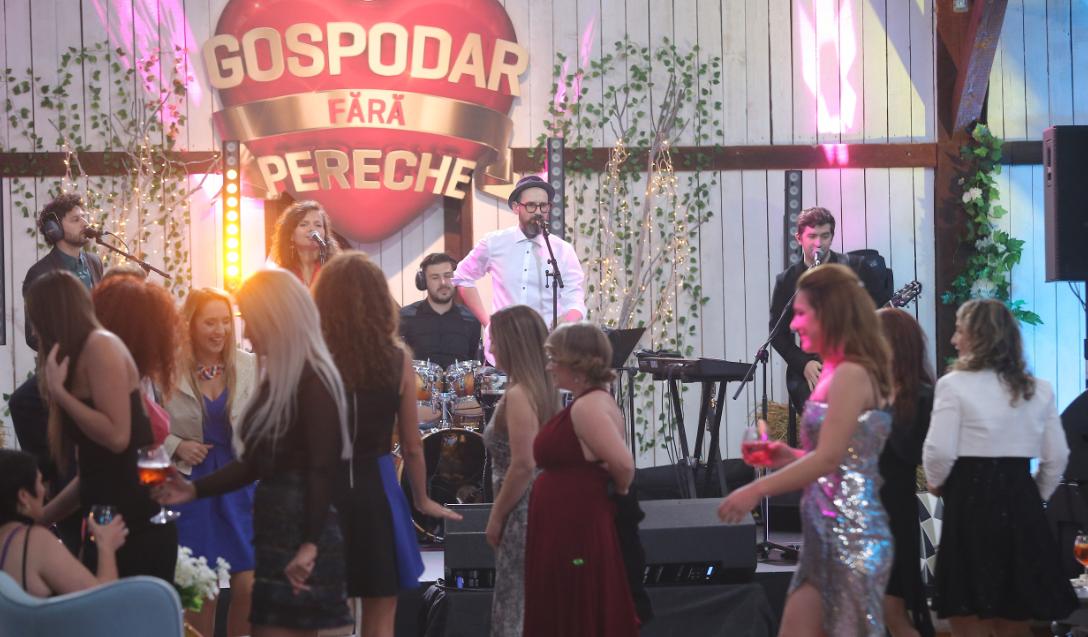 Mihai Mărgineanu face spectacol la Gospodar fără pereche