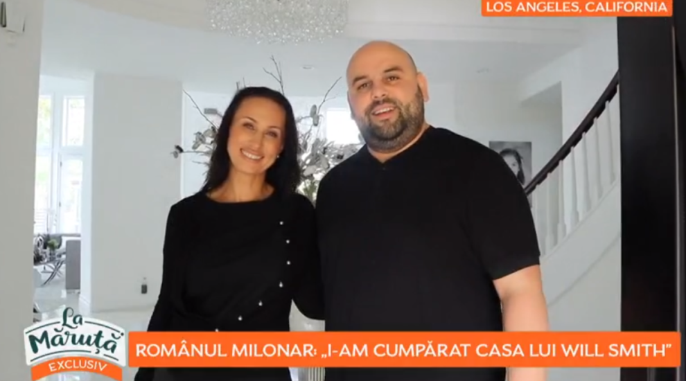 VIDEO Românul milionar care a cumpărat casa actorului Will Smith. Cum arată și cât a costat luxosul imobil