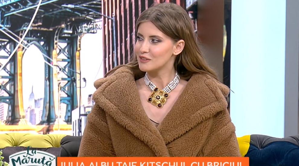 VIDEO Iulia Albu taie kitschul cu briciul