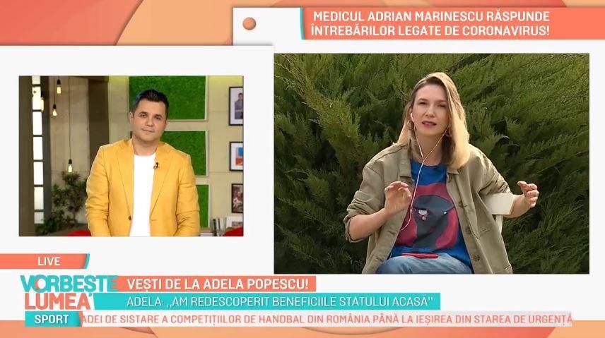 Adela Popescu, despre starea ei de sănătate. Cum se simte și cum își petrece timpul cu cei doi copii acasă