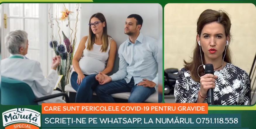 VIDEO Care sunt pericolele COVID-19 pentru femeile însărcinate