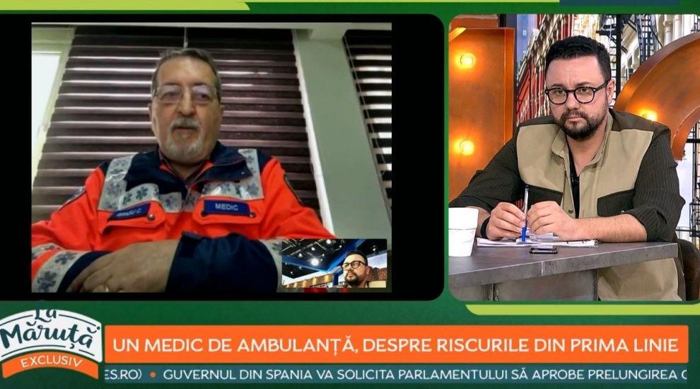 Cristian Grasu, medic specialist medicină de urgență, despre riscurile expunerii la noul coronavirus