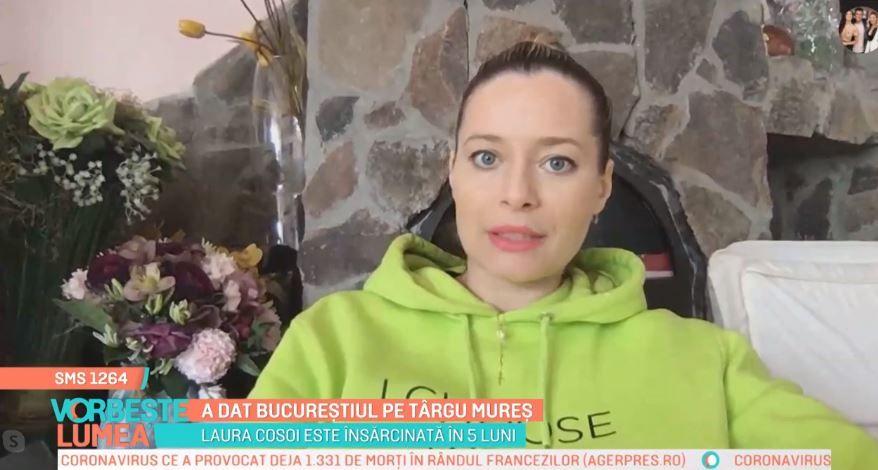 Laura Cosoi, despre măsurile de prevenție pe care le-a luat în plină epidemie de coronavirus