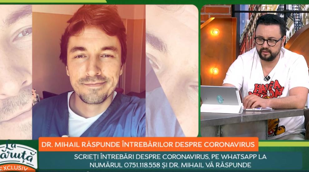 Dr. Mihail Pautov, noi informații despre coronavirus. Ce este important să știm