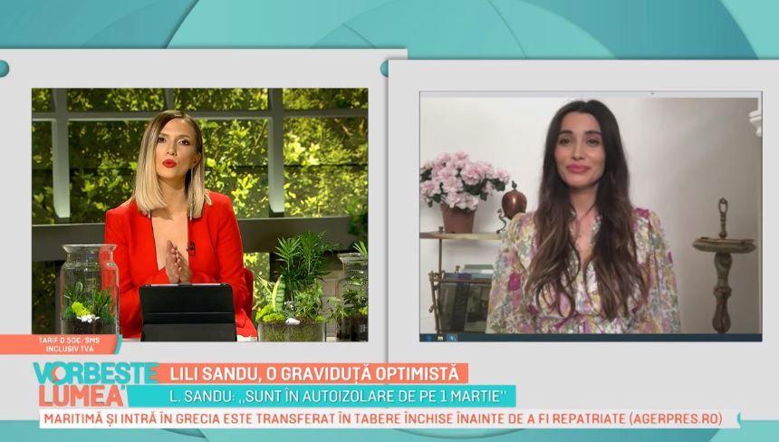 Lili Sandu, dezvăluiri despre sarcină. Cum se simte și cum reușește să depășească această perioadă