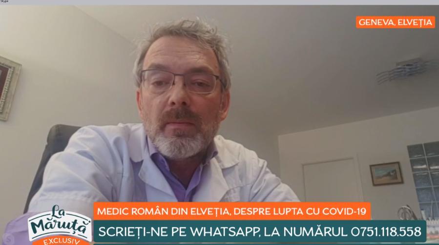 Cum luptă Elveția împotriva coronavirusului. Un medic român face declarații