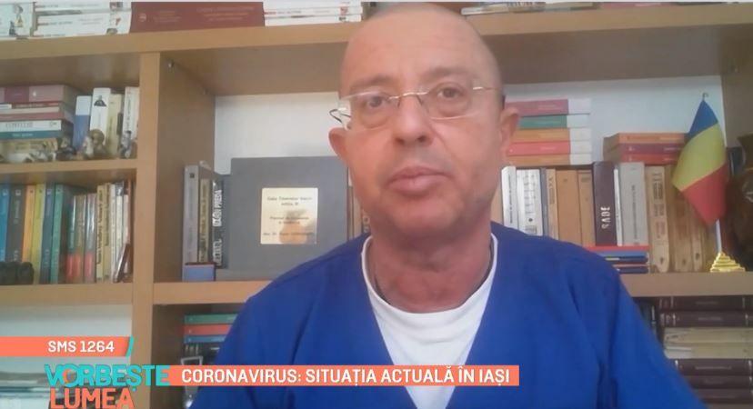 Tudor Ciuhodaru, medic primar urgențe, despre situația actuală din Iași