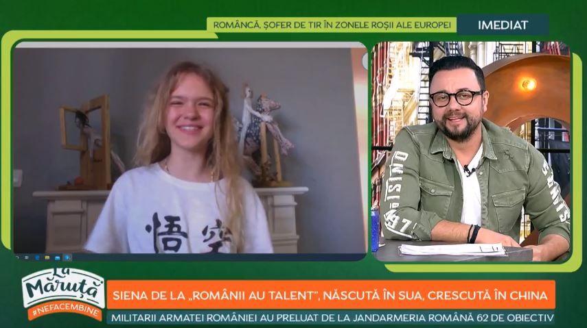 Cum își ocupă timpul în izolare Siena Vușcan, puștoica de 10 ani care i-a uimit pe jurații de la Românii au talent