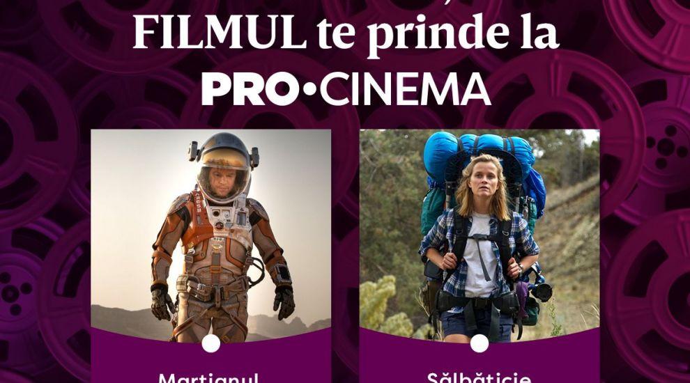 De 16 ani, PRO CINEMA este alături de tine! Două filme de excepție în seara de Înviere