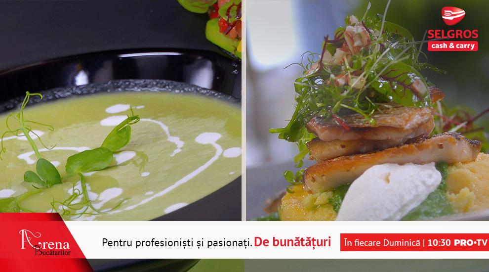 ARENA BUCĂTARILOR: Supă cremă de sparanghel cu tartar de căpșuni și mentă