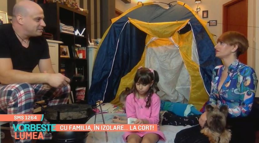 Giulia Angelescu și Vlad Huidu, activități creative alături copii