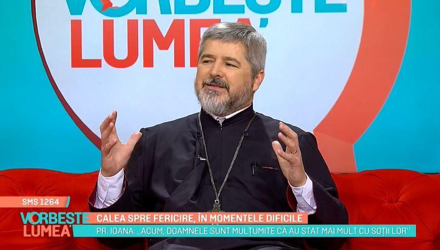Părintele Vasile Ioana, sfaturi în vreme de pandemie. Cum putem găsi fericirea în momentele dificile
