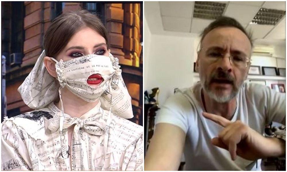 """Confruntarea momentului între Iulia Albu și Mihai Albu, în direct La Măruță! """"Eu o să părăsesc platoul"""""""