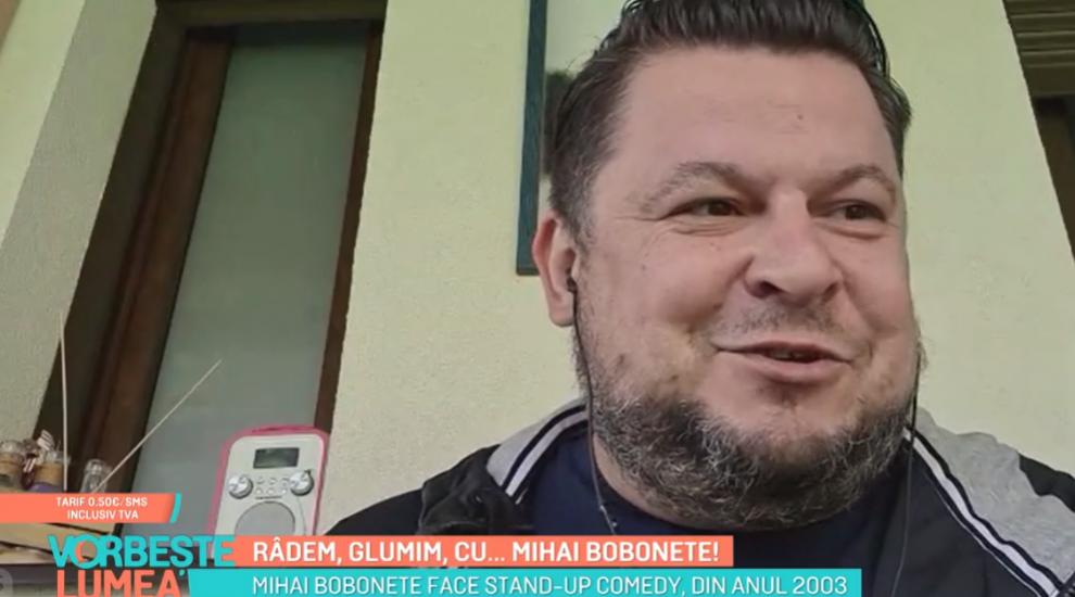 """Mihai Bobonete, despre viața de comediant. """"Nu este ușor să îi faci pe alții să râdă"""""""