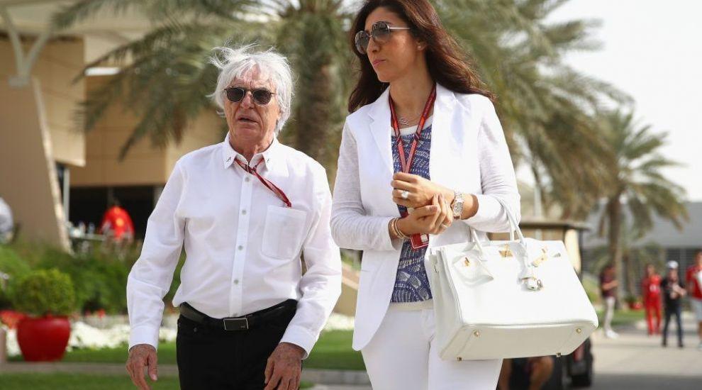 """Bernie Ecclestone (89 de ani), cu soția însărcinată la cumpărături. Boss-ul F1 e încă """"verde"""""""