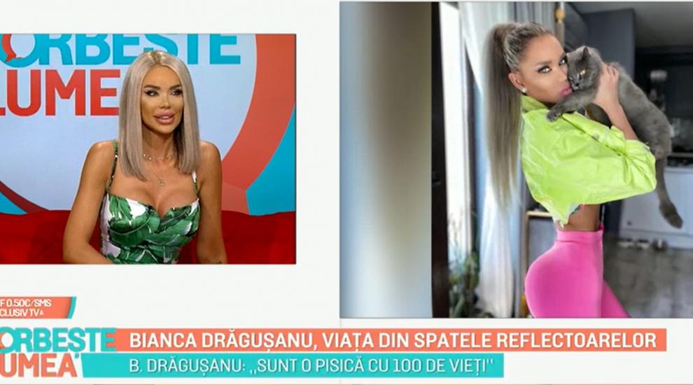 Bianca Drăgușanu, viața din spatele reflectoarelor. Dezvăluiri neașteptate pe care le-a făcut la Vorbește Lumea