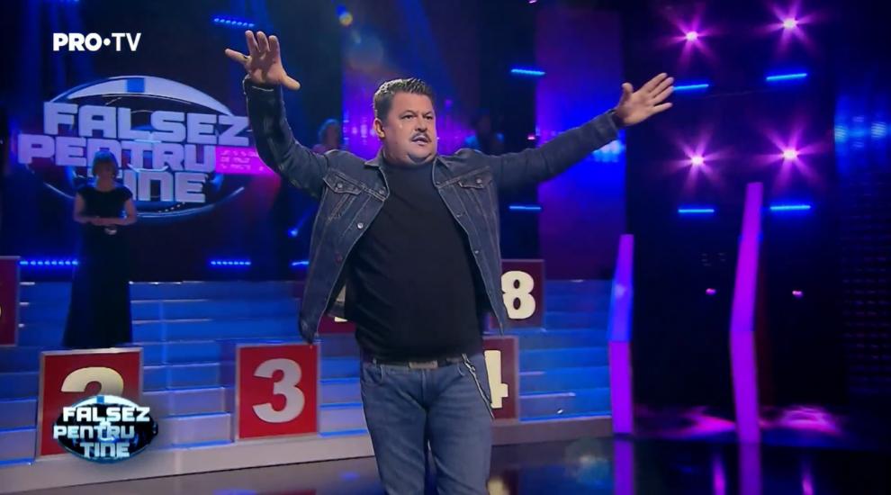 """Mihai Bobonete, moment de excepție la Falsez pentru tine: """"Există premiul Oscar pentru playback?"""""""