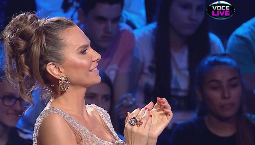 Coincidență sau nu, numele acestui concurent este Irinel, iar Anna Lesko a mizat pe talentul lui