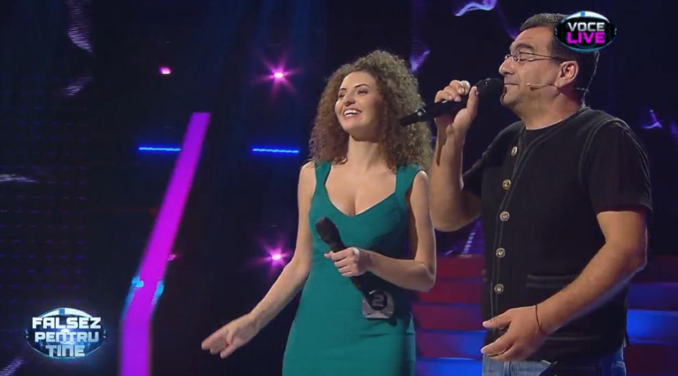 Cum s-a descurcat câștigătoarea celei de-a două ediții Falsez pentru tine în duet cu Mihai Mărgineanu
