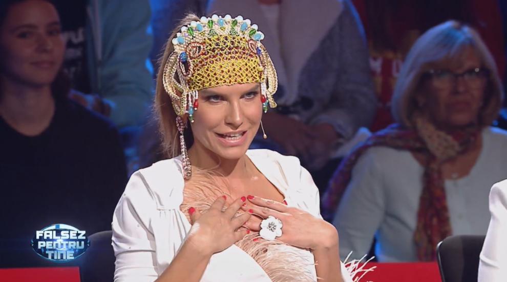 Anna Lesko, apariție demnă de o divă la a patra ediție Falsez pentru tine. Cum arată ținuta vedetei