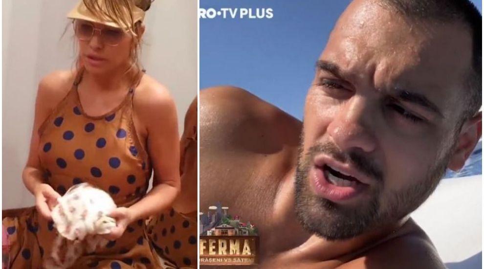 VIDEO Cum și-au petrecut George Piștereanu și Anna Lesko ultima zi înainte de plecarea în FERMA