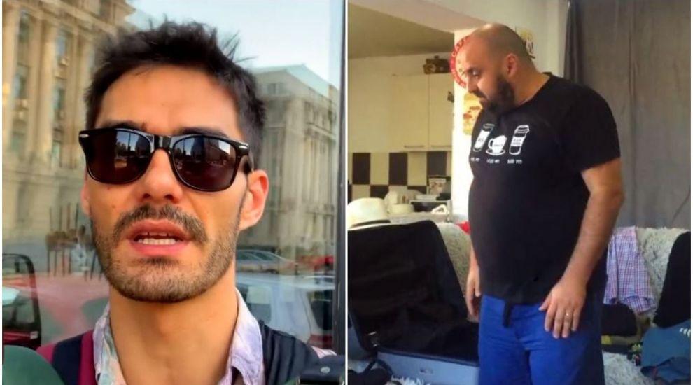 George Burcea și Gabriel Toader sunt pregătiți să ia cu asalt FERMA! Imagini exclusive din ultima lor zi cu familia VIDEO