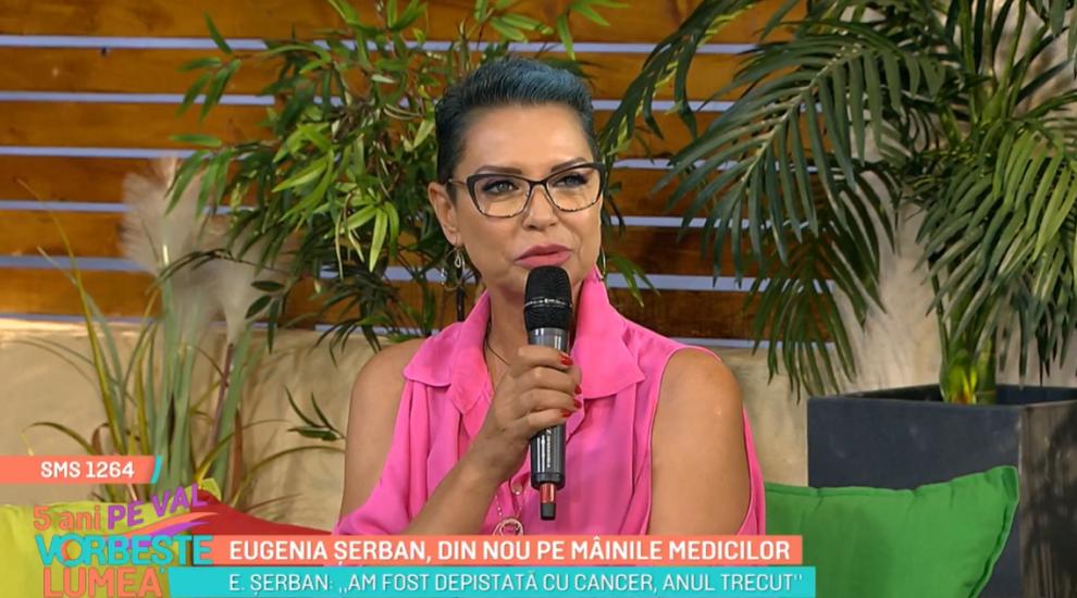 Eugenia Șerban, mărturisiri emoționante despre problemele medicale cu care se confruntă