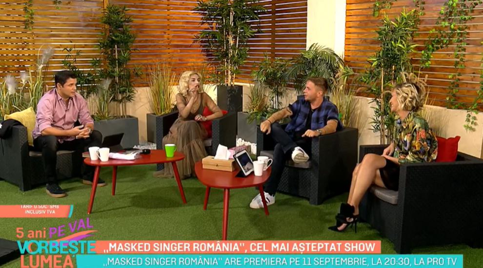 Viața din spatele reflectoarelor. Ana Morodan și Codin Maticiuc, informații noi despre Masked Singer România